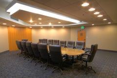 De ruimte van de de vergaderingsraad van de conferentie Royalty-vrije Stock Fotografie