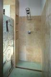 De ruimte van de douche stock foto