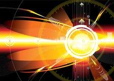 De ruimte van de energie stock illustratie