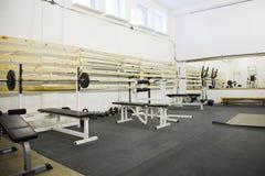 De ruimte van de gymnastiek Stock Afbeeldingen