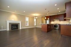 De ruimte van de keuken en van de familie Royalty-vrije Stock Foto