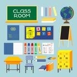De ruimte van de klasse Stock Foto