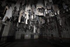 De ruimte van de kolenmijnmantel Stock Foto's