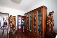 De ruimte van de lezing in nieuw huis Royalty-vrije Stock Afbeeldingen