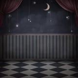 De ruimte van de nacht stock illustratie