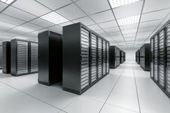De ruimte van de server Royalty-vrije Stock Afbeelding