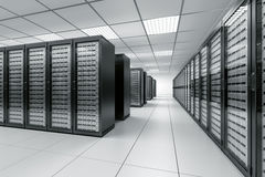 De ruimte van de server vector illustratie