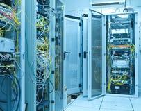 De ruimte van de server stock fotografie