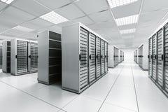 De ruimte van de server Royalty-vrije Stock Afbeeldingen