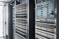 De ruimte van de server stock foto