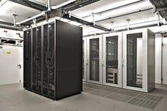 De ruimte van de Server van IT Royalty-vrije Stock Foto's