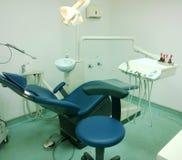 De ruimte van de tandartsbehandeling Stock Foto's
