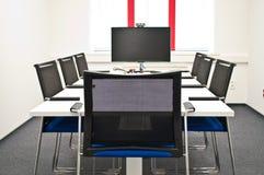 De ruimte van de teamconferentie Stock Afbeeldingen