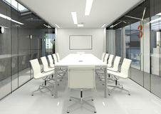 De ruimte van de vergadering Stock Afbeelding