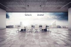 De ruimte van de vergadering stock fotografie