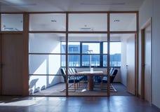 De ruimte van de vergadering in bureau Royalty-vrije Stock Afbeeldingen
