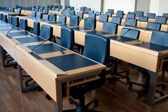 De ruimte van de vergadering of van de conferentie Royalty-vrije Stock Foto
