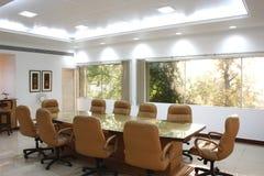 De ruimte van de vergadering van een bureau Royalty-vrije Stock Foto's