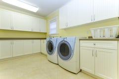 De ruimte van de wasserij Stock Afbeelding