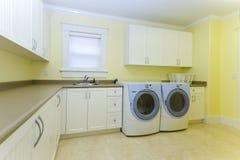 De ruimte van de wasserij Royalty-vrije Stock Foto's