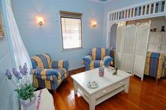 De ruimte van de zitkamer het plaatsen Stock Afbeeldingen