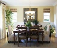 De ruimte van Dinning Royalty-vrije Stock Foto's