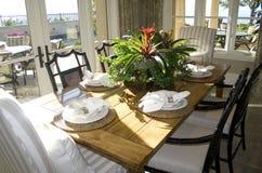 De ruimte van Dinning Royalty-vrije Stock Foto