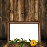 De ruimte van Grunge voor ontwerp met oud frame Royalty-vrije Stock Afbeeldingen