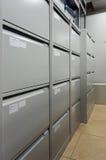 De ruimte van het archief royalty-vrije stock foto's