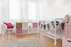 De ruimte van het babymeisje Royalty-vrije Stock Fotografie