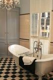 De ruimte van het bad stock fotografie