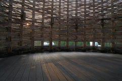 De ruimte van het bamboe Royalty-vrije Stock Fotografie