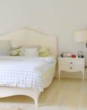 De ruimte van het bed Royalty-vrije Stock Afbeeldingen