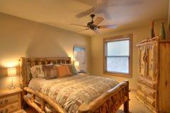 De ruimte van het bed   stock foto