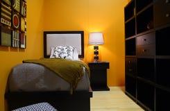 De ruimte van het bed Royalty-vrije Stock Foto