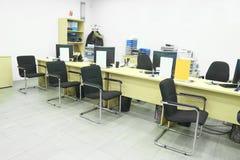 De ruimte van het bureau Royalty-vrije Stock Foto's