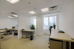 De ruimte van het bureau Royalty-vrije Stock Afbeelding