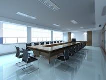 De ruimte van het bureau Stock Foto's