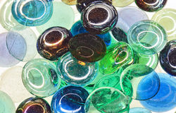De ruimte van het glas Stock Foto's