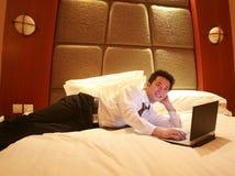 De ruimte van het hotel Royalty-vrije Stock Afbeeldingen