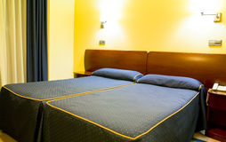 De ruimte van het hotel Stock Foto