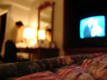 De ruimte van het hotel Royalty-vrije Stock Fotografie