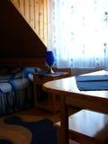 De ruimte van het motel royalty-vrije stock fotografie