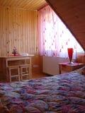 De ruimte van het motel royalty-vrije stock afbeeldingen