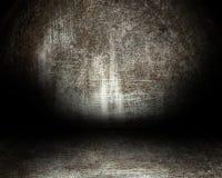 De ruimte van het staal stock afbeeldingen