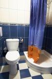 De ruimte van het toilet Stock Fotografie