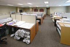 De Ruimte van het werk stock afbeeldingen