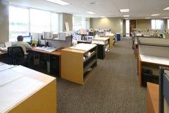 De Ruimte van het werk Stock Foto's
