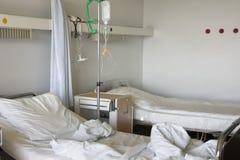 De ruimte van het ziekenhuis Stock Afbeeldingen