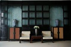 De ruimte van hotel Royalty-vrije Stock Afbeeldingen